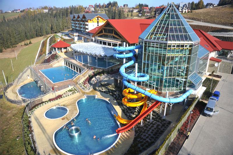 Aquapark w Bukowinie